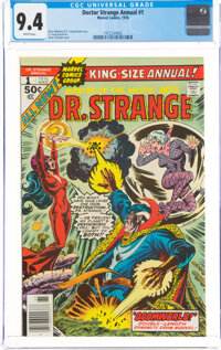 Doctor Strange Annual #1 (Marvel, 1976) CGC NM 9.4 White pages