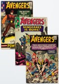 Silver Age (1956-1969):Superhero, The Avengers Group of 7 (Marvel, 1965-80) Condition: Average VG.... (Total: 7 Comic Books)
