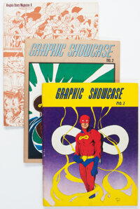 Graphic Story Magazine/Graphic Showcase Group of 11 (Various Publishers, 1964-71) Condition: Average NM-.... (Total: 11...