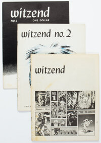 Witzend #1-8 and 10 Group (Wally Wood, 1966-76) Condition: Average VF.... (Total: 9 Comic Books)