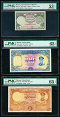 Argentina, Brazil, Burma, Costa Rica and More Group Lot of 10 PMG Graded Notes. ... (Total: 10 notes)
