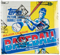 Baseball Cards:Unopened Packs/Display Boxes, 1984 Topps Baseball Cello Box With 24 Unopened Packs - Don Mattingly Rookie Year!...