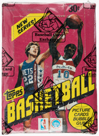 1981 Topps Basketball Wax Box With 36 Unopened Packs
