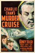 """Movie Posters:Mystery, Charlie Chan's Murder Cruise (20th Century Fox, 1940). Folded, Very Fine-. One Sheet (27"""" X 41"""").. ..."""