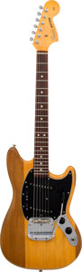 Musical Instruments:Electric Guitars, 1966 Fender Mustang Natural Solid Body Electric Guitar, Serial #122386.. ...