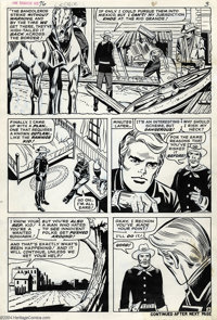Larry Lieber and John Tartaglione - Rawhide Kid #76, Group of 11 pages Original Art (Marvel, 1970). These pages were wri...