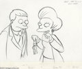 Original Comic Art:Miscellaneous, The Simpsons Preliminary Animation Original Art (undated). EdnaKrabapple flashes Lionel Hutz her ATM card and car keys. The...