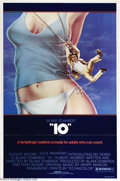 "Movie Posters:Comedy, ""10"" (Warner Brothers, 1979). One Sheet (27"" X 41""). Dudley Moorecreated a classic character obsessed with Bo Derek in her ..."