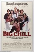 "Movie Posters:Comedy, Big Chill, The (Columbia, 1983). One Sheet (27"" X 41""). GlennClose, Jeff Goldblum, William Hurt and Kevin Kline star in thi..."