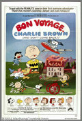 "Movie Posters:Animated, Bon Voyage Charlie Brown (Paramount, 1980). One Sheet (27"" X 41"").Charlie Brown and the whole Charles Schulz gang travel to..."