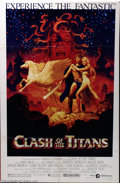 "Movie Posters:Fantasy, Clash of the Titans (MGM, 1981). One Sheet (27"" X 41""). Beautiful Hildebrandt Brothers artwork graces this poster from the R..."