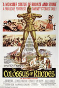 "Movie Posters:Adventure, The Colossus of Rhodes (MGM, 1961). One Sheet (27"" X 41""). SergioLeone directs this sword and sandal Italian epic starring ..."