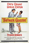 "Movie Posters:Comedy, Father Goose (Universal, 1965). One Sheet (27"" X 41""). The greatCary Grant would make only one more film after this charmin..."