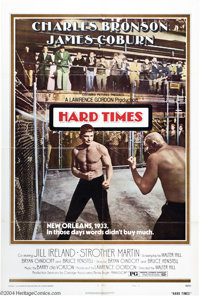 """Hard Times (Columbia, 1975). One Sheet (27"""" X 41""""). Charles Bronson stars as a tough guy who partners with bar..."""