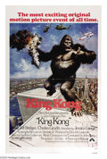 """Movie Posters:Horror, King Kong (Paramount, 1976). One Sheet (27"""" X 41""""). This poster holds more interest in light of the events of the 9/11 and """"..."""