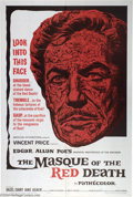 """Movie Posters:Horror, The Masque of the Red Death (AIP, 1964). One Sheet (27"""" X 41""""). Reynold Brown artwork highlights this stunning Vincent Price..."""