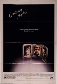 """Ordinary People (Paramount, 1980). One Sheet (27"""" X 41""""). Robert Redford directs this drama about a dysfunctio..."""