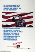 "Movie Posters:War, Patton (20th Century Fox, 1970). One Sheet (27"" X 41""). FrancisFord Coppola wrote this classic tale of the ultimate America..."