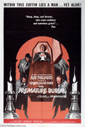 """Movie Posters:Horror, Premature Burial (American International, 1962). One Sheet (27"""" X 41""""). Incredibly clean one sheet from this early 60's AIP ..."""
