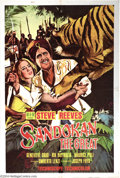 """Movie Posters:Adventure, Sandokan the Great (MGM, 1965). One Sheet (27"""" X 41""""). Steve Reevesstars in this Italian made adventure film. Poster has so..."""