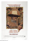 """Movie Posters:Western, The Shootist (Paramount, 1976). One Sheet (27"""" X 41""""). The finaland some say one of the finest John Wayne films. The Duke p..."""