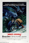 """Movie Posters:Science Fiction, Silent Running (Universal, 1972). One Sheet (27"""" X 41""""). Bruce Dern stars as an astronaut in charge of a floating biosphere ..."""