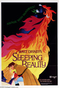 "Movie Posters:Animated, Sleeping Beauty (Buena Vista, R-1979). One Sheet (27"" X 41""). Walt Disney's classic fairy tale was a huge hit in its initial..."