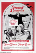 "Movie Posters:Horror, Son of Dracula ( Apple Films Production 1974). One Sheet (27"" X 41""). The Beatles company, Apple, produced this comedy horro..."