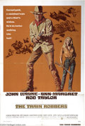 "Movie Posters:Western, The Train Robbers (Warner Brothers, 1973). One Sheet (27"" X 41"").John Wayne teams up with Ann-Margret in this western tale ..."