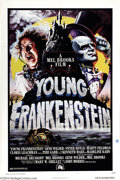 "Movie Posters:Comedy, Young Frankenstein (Universal, 1974). One Sheet (27"" X 41""). Thisis a terrific sheet from Mel Brooks' classic parody of the..."