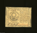 Colonial Notes:Continental Congress Issues, Continental Congress Issue May 10, 1775 $30 Choice Crisp ...
