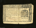 Colonial Notes:New York, New York March 5, 1776 $1 Fine. The upper right-hand ...