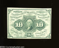 Fractional Currency:First Issue, Fr. 1242 10c First Issue Choice About Uncirculated.A very ...
