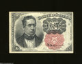 Fractional Currency:Fifth Issue, Fr. 1265 10c Fifth Issue About Uncirculated. A small thin ...
