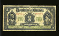 Canadian Currency: , DC-22a-1 $2 1914