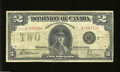 Canadian Currency: , DC-26-f $2 1923
