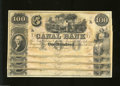 Obsoletes By State:Louisiana, New Orleans, LA- Canal Bank $100-$100-$100-$100 Cut Sheet ... (4 notes)