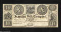 Obsoletes By State:Ohio, Franklin, OH- Franklin Silk Company $10 18__