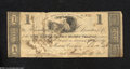 Obsoletes By State:Ohio, Mount Vernon, OH- Owl Creek Bank $1 Sep. 12, 1816
