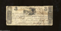 Obsoletes By State:Ohio, Mount Vernon, OH- Owl Creek Bank $3 Nov. 9, 1816