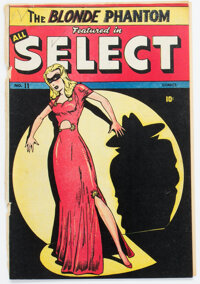All Select Comics #11 (Timely, 1946) Condition: Incomplete