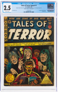 Tales of Terror Annual #1 (EC, 1951) CGC GD+ 2.5 Off-white pages