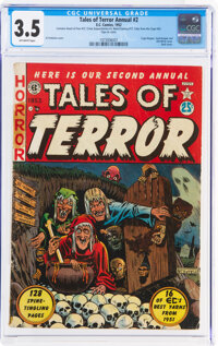 Tales of Terror Annual #2 (EC, 1952) CGC VG- 3.5 Off-white pages