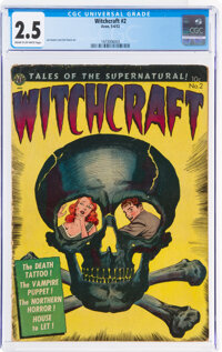Witchcraft #2 (Avon, 1952) CGC GD+ 2.5 Cream to off-white pages