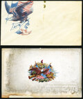 Patriotic Cover- South Carolina and Embossed Card Not Graded. ... (Total: 2 items)