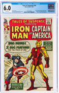 Silver Age (1956-1969):Superhero, Tales of Suspense #59 (Marvel, 1964) CGC FN 6.0 White pages....