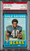 Football Cards:Singles (1970-Now), 1971 Topps Gale Sayers #150 PSA NM-MT 8....