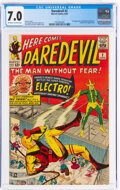 Silver Age (1956-1969):Superhero, Daredevil #2 (Marvel, 1964) CGC FN/VF 7.0 Off-white to whi...
