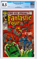 Silver Age (1956-1969):Superhero, Fantastic Four Annual #6 (Marvel, 1968) CGC VF+ 8.5 White pages....