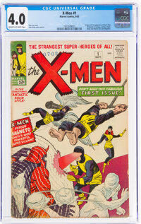 X-Men #1 (Marvel, 1963) CGC VG 4.0 Cream to off-white pages